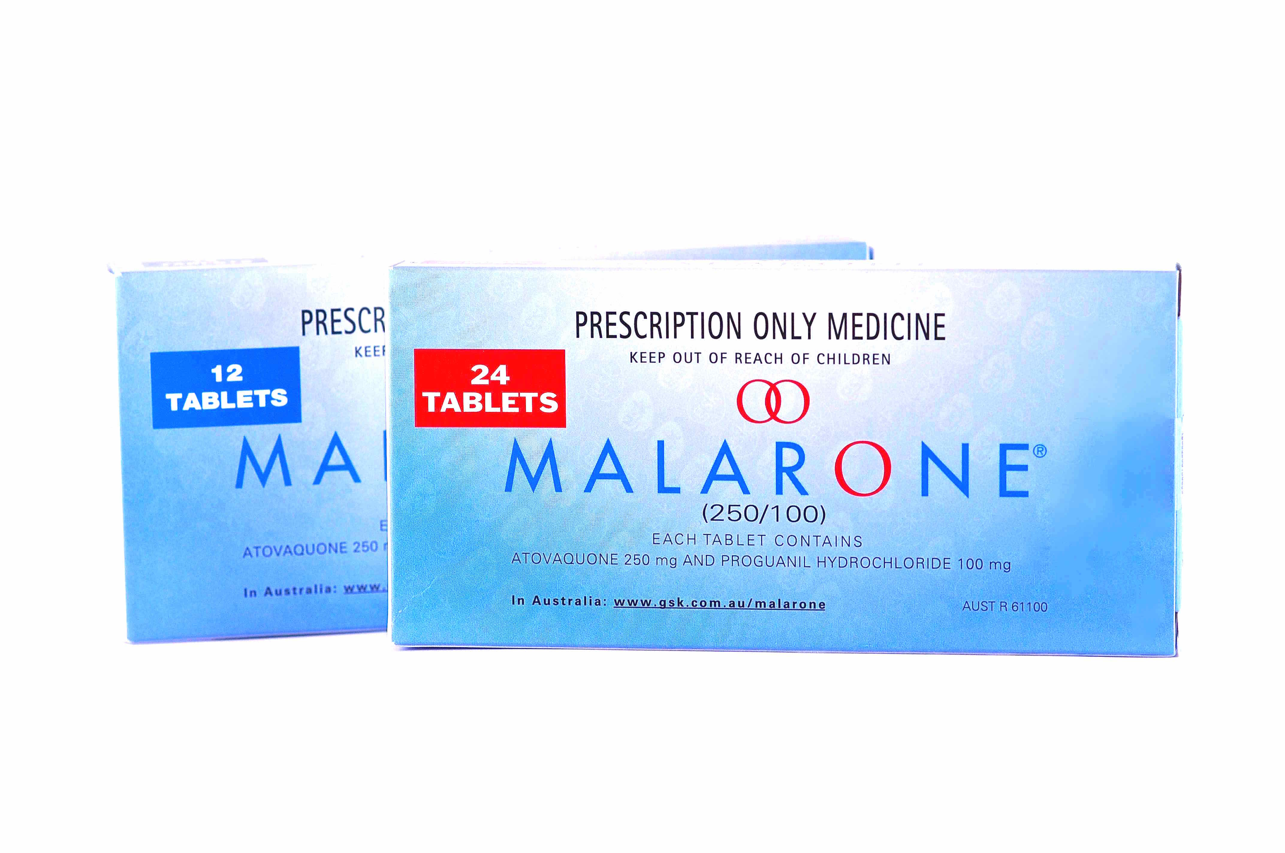 Weekly malaria tablets